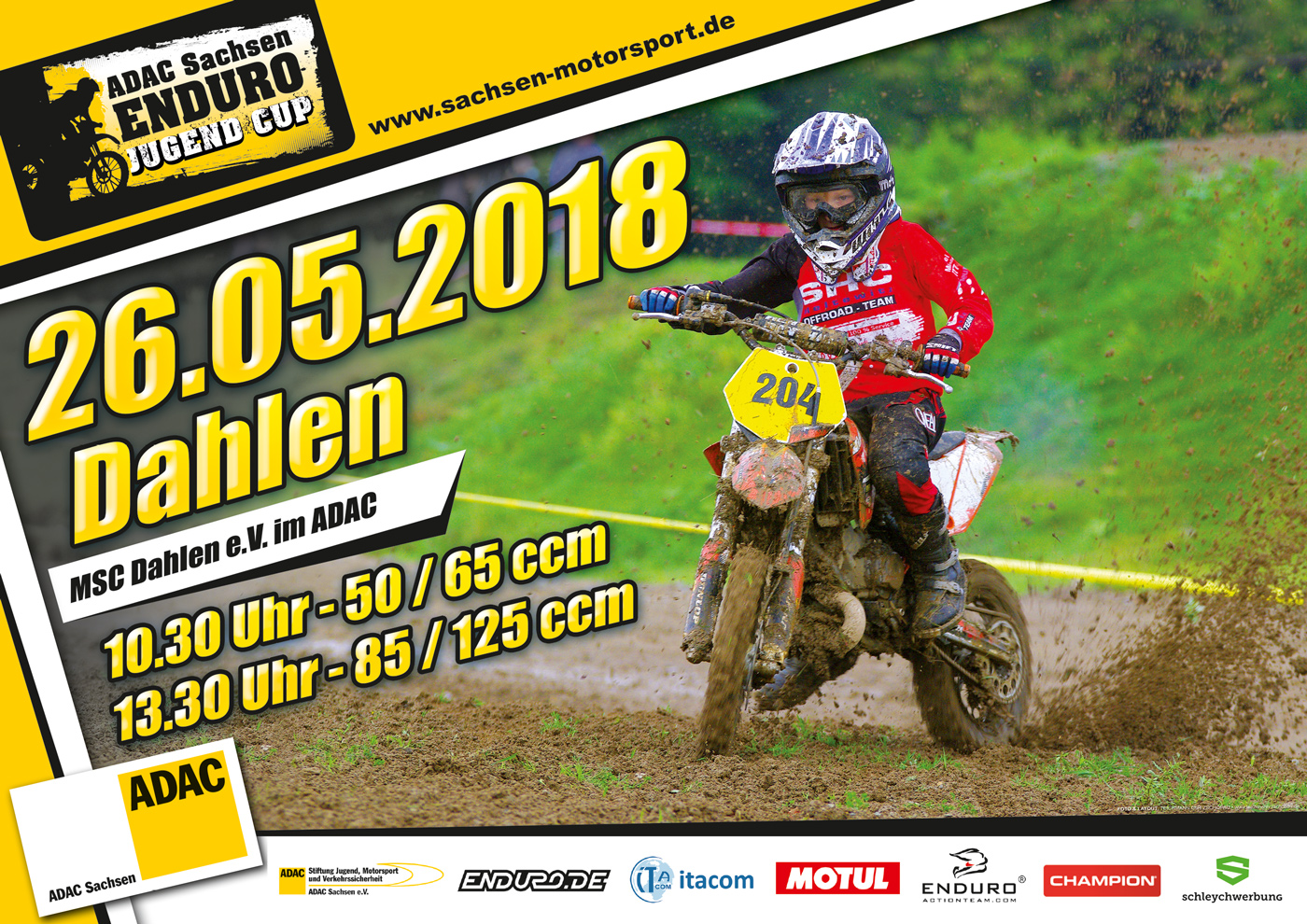 Enduro-Junior-Cup-Lauf am 26.05.2018