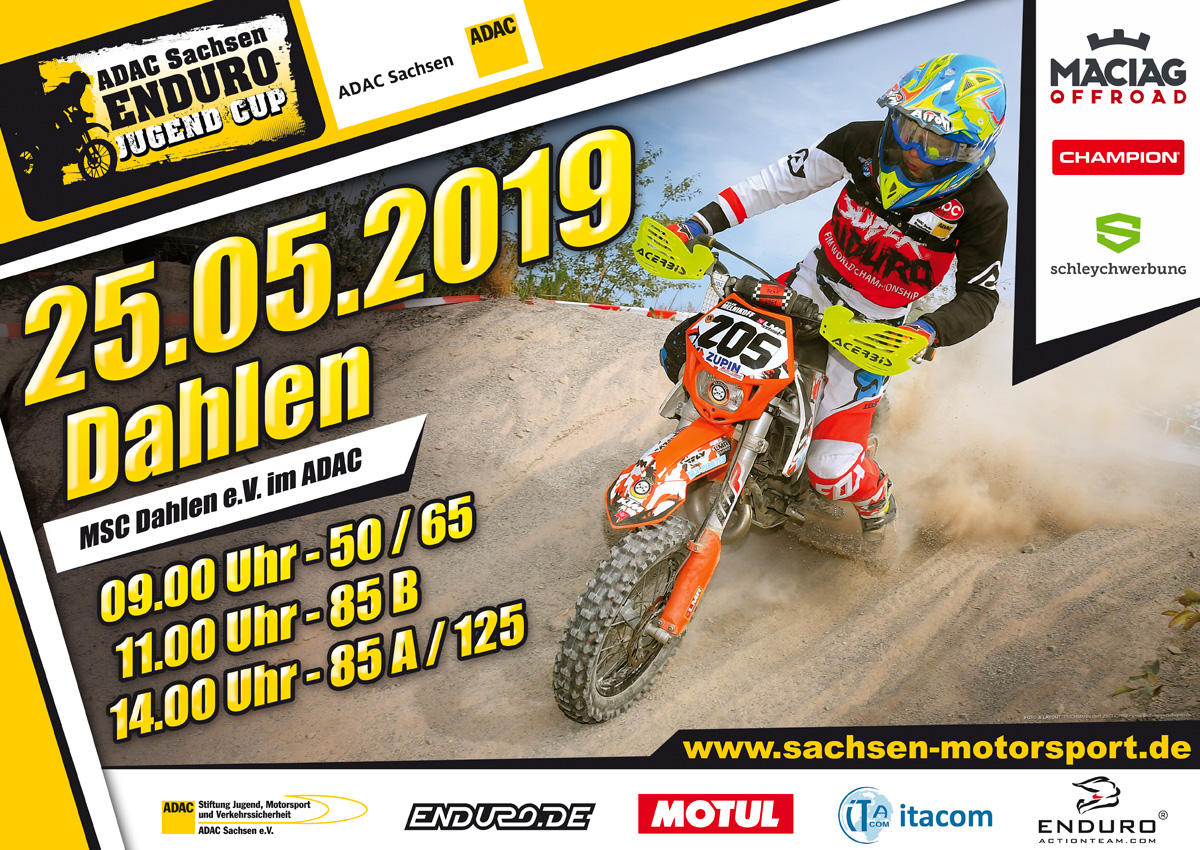 Enduro-Junior-Cup-Lauf am 25.05.2019