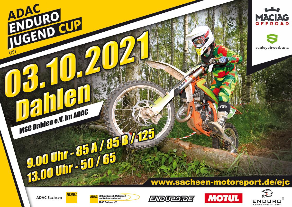 Enduro-Junior-Cup-Lauf am 03.10.2021